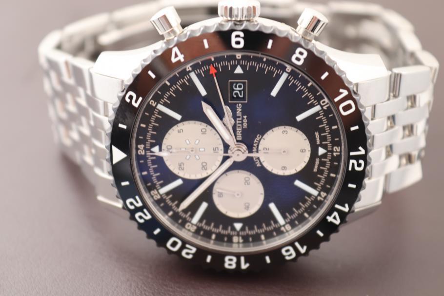 Breitling Chronoliner GMT Stahl