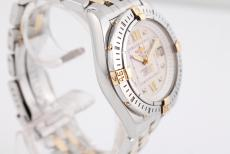 Breitling Galactic Lady Stahl Gold
