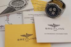 Breitling Jupiter Pilot Stahl Alarm