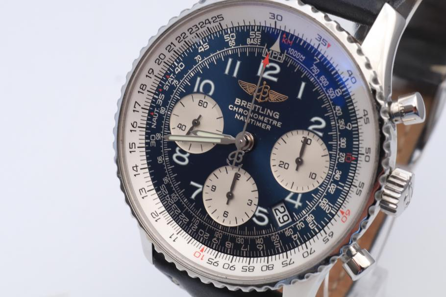 Breitling Navitimer Chronograph Blue Dial