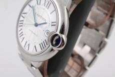 Cartier Ballon Bleu Stahl 42mm Automatik