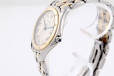 Cartier Cougar in Stahl/ Gold