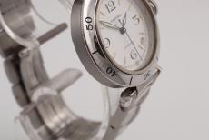 Cartier Pasha 35 Stahl/ Stahl