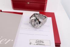 Cartier Pasha Chrono Stahl Automatik
