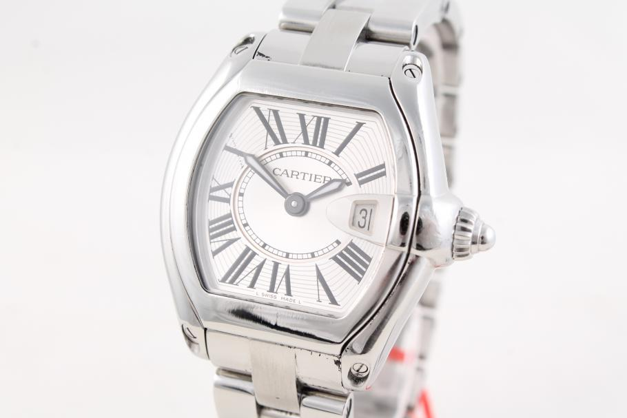Cartier Roadster Lady in Stahl