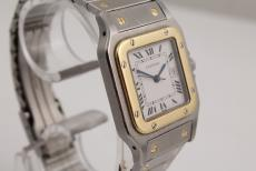 Cartier Santos Automatik in Stahl/ Gold