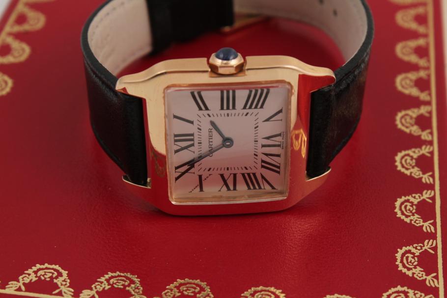 Cartier Santos Dumont in 18 Karat Gelbgold