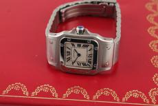 Cartier Santos Ladies Stahl