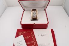 Cartier Tank Americaine XL Rosegold Automatik