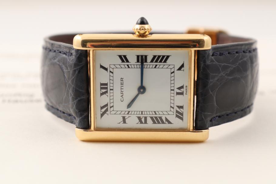 Cartier Tank Gelbgold