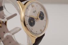 Heuer Chronograph 18K Yellowgold
