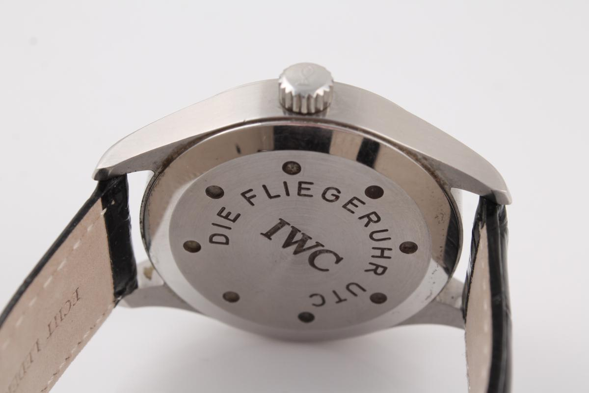 Iwc Fliegeruhr Utc Am Lederband Chronometrie Pietzner