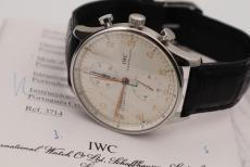 IWC Portugieser Chronograph white