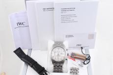 IWC Spitfire Chronograph Stahl