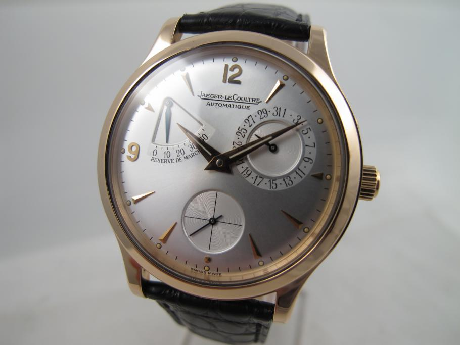 Jaeger-LeCoultre Master Control Reserse de Marche Rotgold
