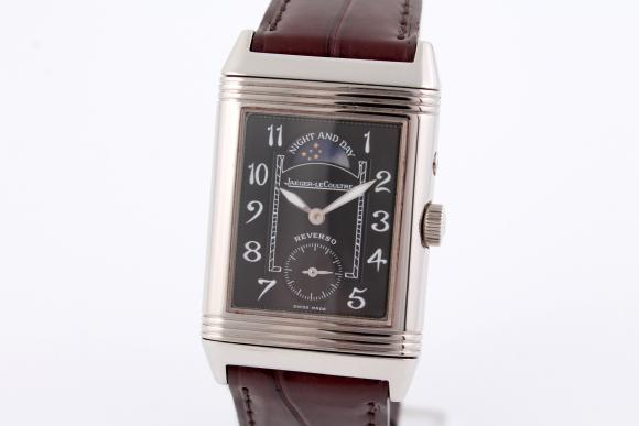 Jaeger-LeCoultre Reverso Duoface Night and Day/ Weißgold