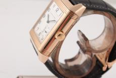 Jaeger-LeCoultre Reverso Rotgold am Lederband 8-Tage