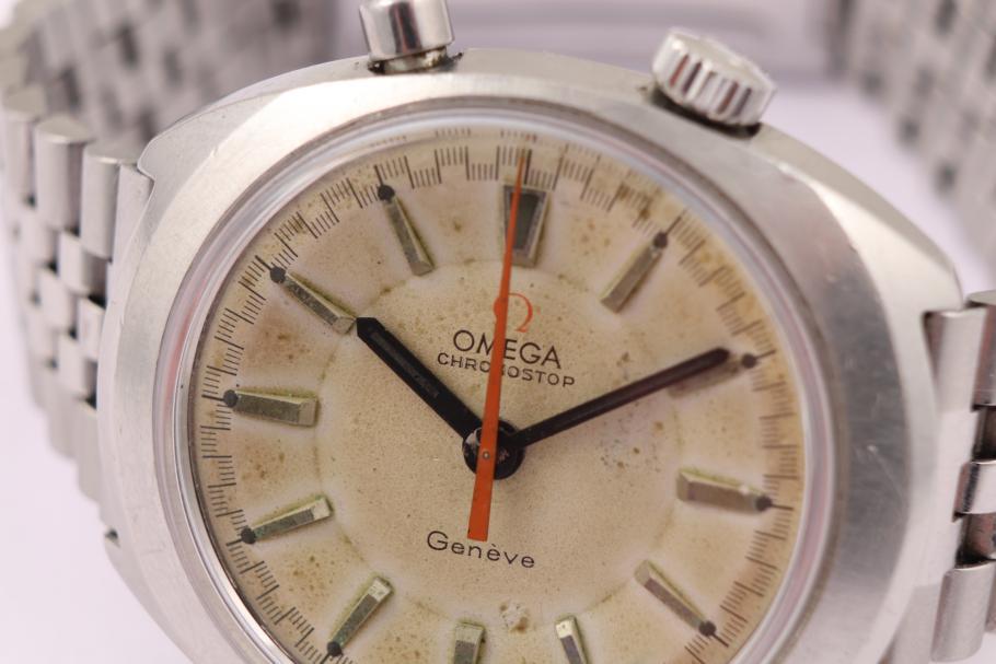 Omega Chronostop drivers watch 1968