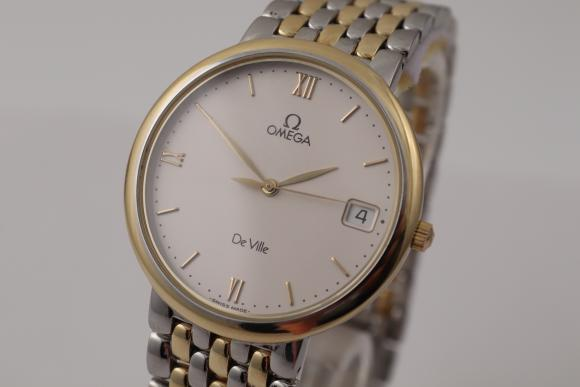 Omega De Ville gentleman´s watch steel/ Gold