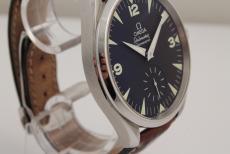 Omega Railmaster Chronometer Stahl