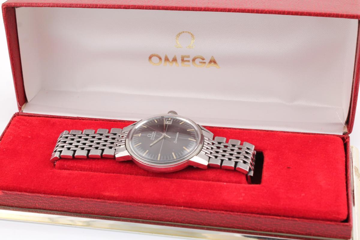 Omega seamaster stahl aus den 60er jahren chronometrie for Mobel aus den 60er jahren