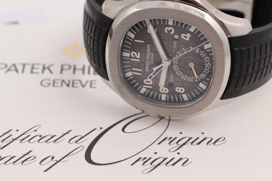 Patek Philippe Aquanaut Travel Time 5164A
