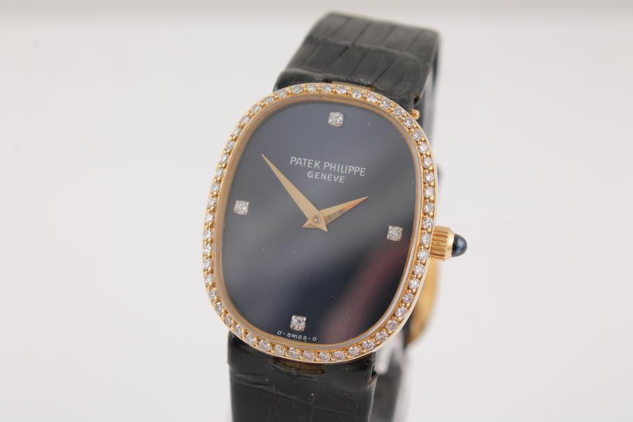 Patek Philippe Ellipse Lady Gelbgold