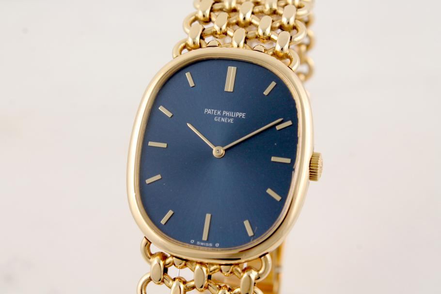 Patek Philippe Ellipse Ref. 3848 in 18 K Gelbgold
