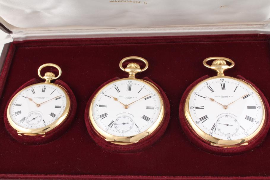 Patek Philippe Gondolo Chronometer im 3-Set