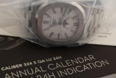 Patek Philippe Nautilus Jahreskalender Stahl Ref. 5726