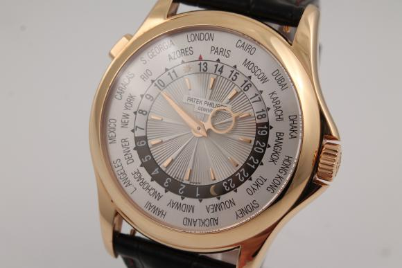 Patek Philippe World Time Rosegold Ref. 5130R - New Patek-Service!