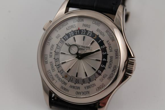 Patek Philippe World Time Weißgold - unworn!