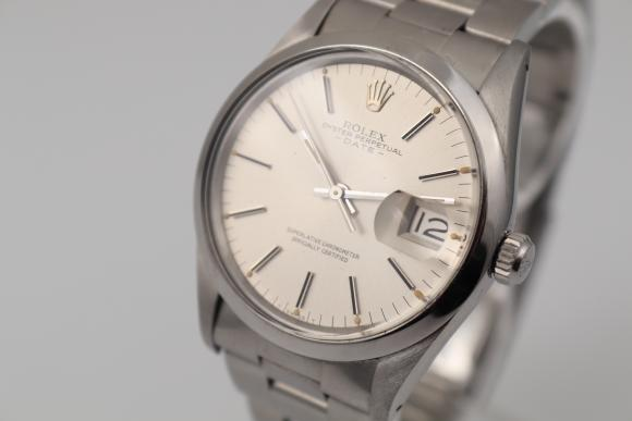 Rolex Date Ref.15000 box and papers