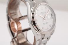 Rolex Date Stahl Ref. 115234