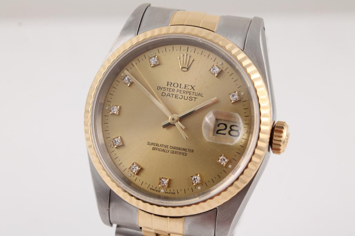 rolex datejust 36mm stahl gold jubileeband. Black Bedroom Furniture Sets. Home Design Ideas
