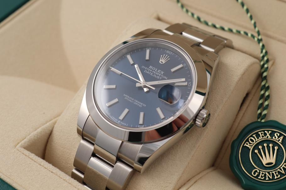 Rolex Datejust 41 Blue - unworn -
