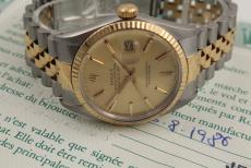 Rolex Datejust Bi-Colour
