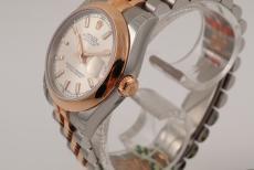 Rolex Datejust Damen Rosegold/ Stahl