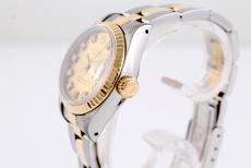 Rolex Datejust Damen Stahl/ Gold mit Diamantblatt