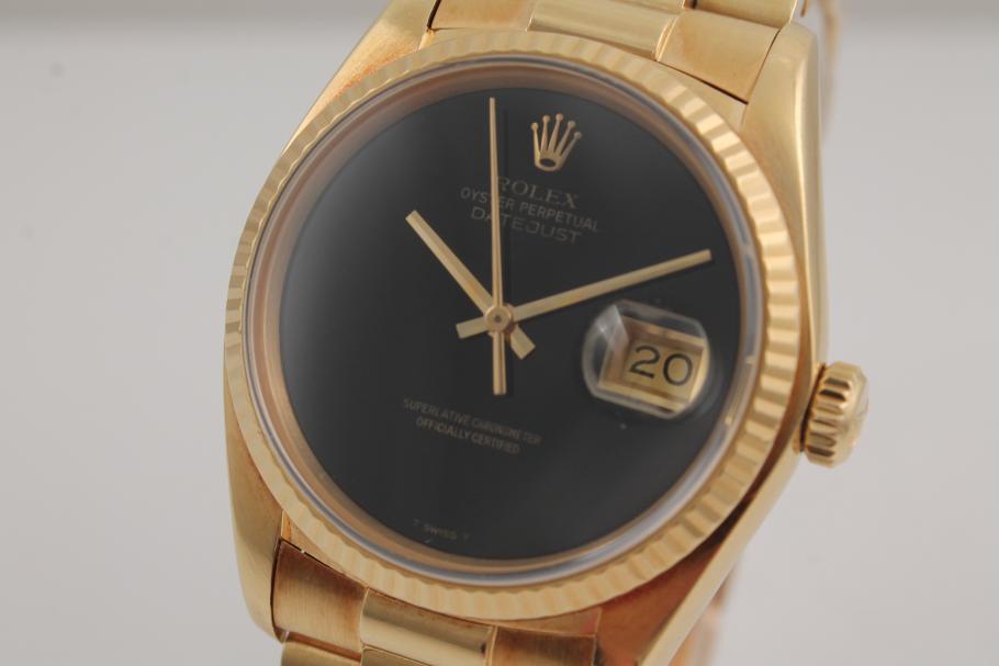 Rolex Datejust Gelbgold