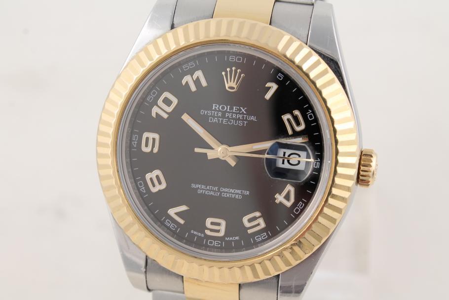 Rolex Datejust II in Stahl/ Gold