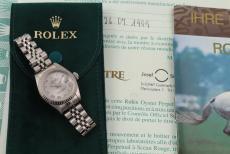 Rolex Datejust Lady Stahl