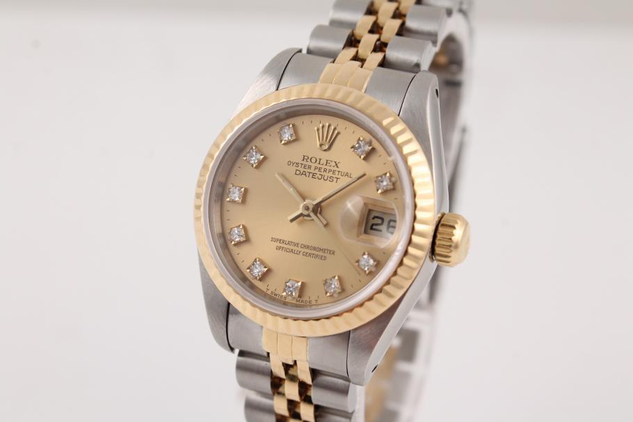 Rolex Datejust Lady Stahl-Gold