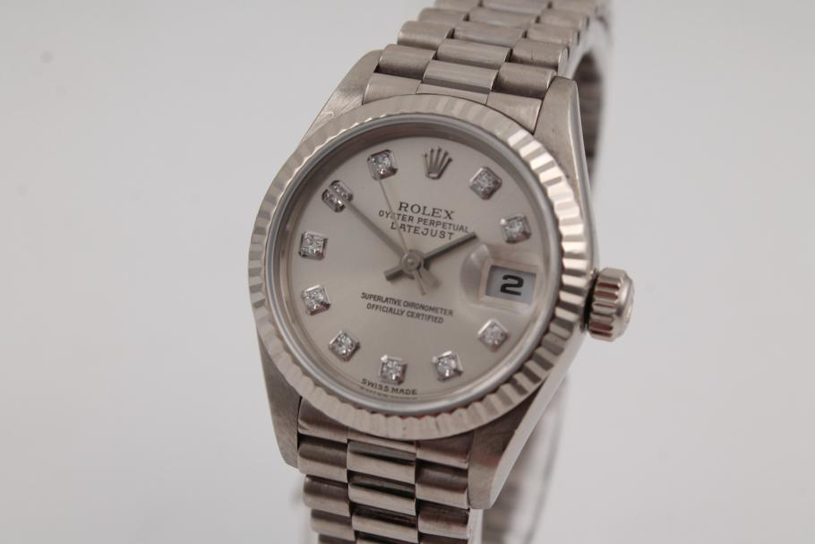 Rolex Datejust Lady in Weißgold