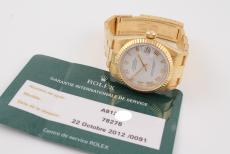 Rolex Datejust Medium in Gelbgold