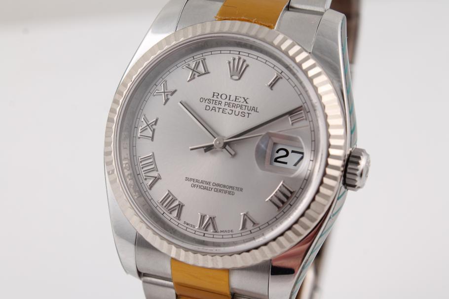Rolex Datejust Ref. 116234 ungetragen nach Rolex-Service!