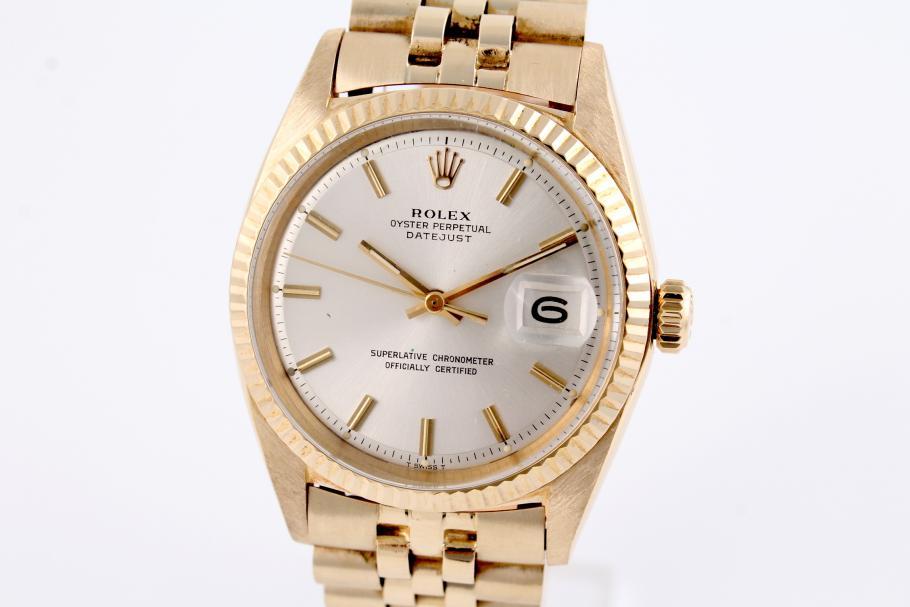 Rolex Datejust Ref. 1601 Gelbgold