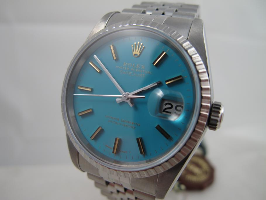 Rolex Datejust Ref. 16220 blue