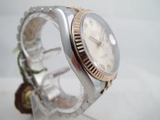 Rolex Datejust Rosegold/ Stahl teilverklebt