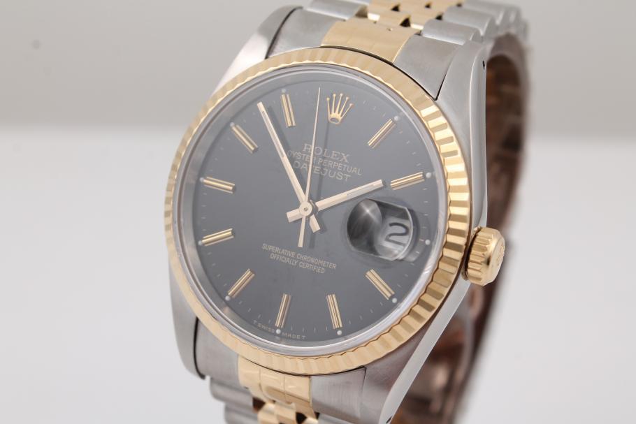 Rolex Datejust Stahl/ Gold